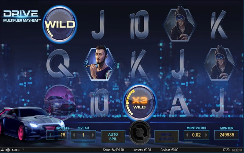 Drive Multiplier Mayhem Slot - Spela det Online